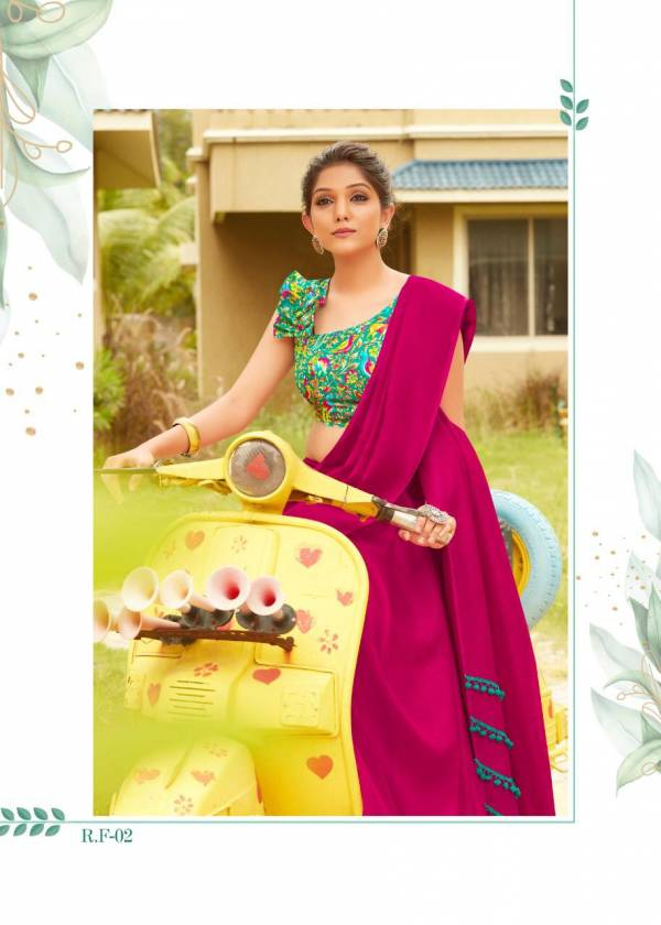 Shreyans Rpid Fire Designer Fancy Look Casual And Function Wear Saree Collection