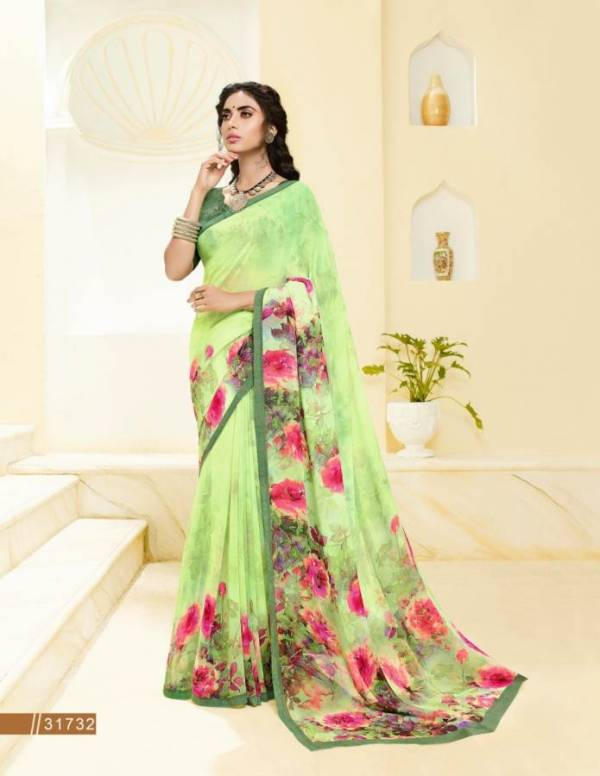 Subhash Gardenia 7 Nx Latest Designer Daily Wear Georgette Saree Collection With Beautiful Print