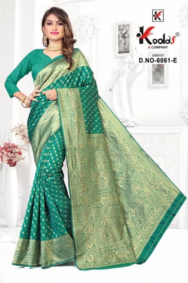 Skoda 6061 Latest Fancy Designer Silk Festive Wear Heavy Saree Collection