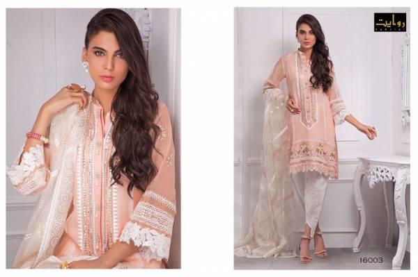 Rawayat Modern Memsaab 2 Latest festive Wear Top Pure Jam Cotton With Embroidered Pakistani Salwar Suits Collection
