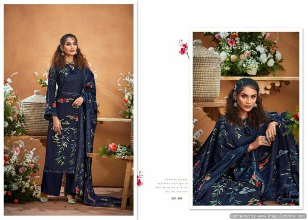 Zulfat Winter Beauty Pure Pashmina Designer Party Wear Dress Material