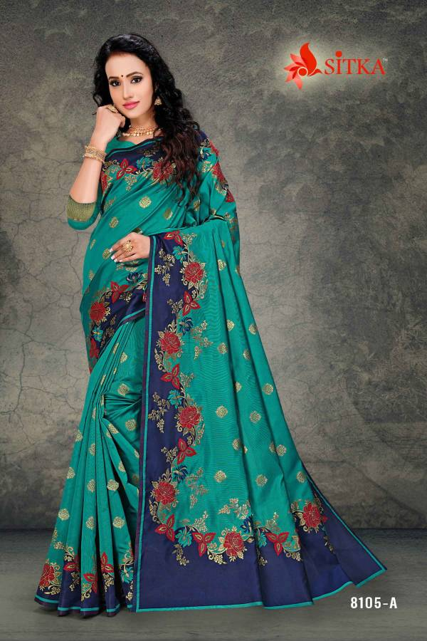 Deivamangal 8105 Latest Designer Party Wear Saree Collection Having Beautiful Designer Print