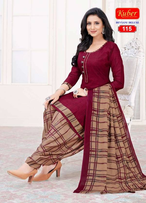 Kuber Divyani Deluxe Printed Latest Fancy Designer Regular Casual Wear Cotton Ready Made Dress Collection