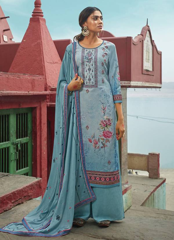 Pure Muslin Digital Printed Palazzo Suits Collection