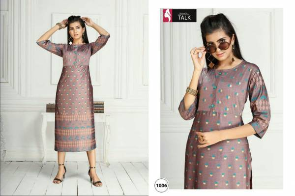 Ft Swiss Latest Fancy Casual Wear Heavy Rayon Printed Designer Kurtis Collection