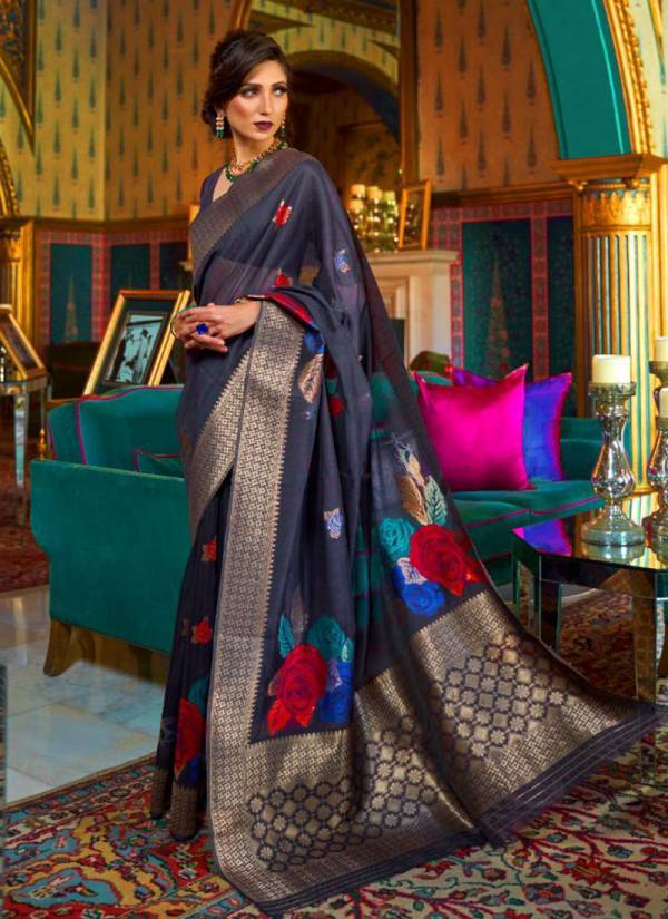 Kiama Silk Designer Party wear Festival Sarees Collection 128001-128006