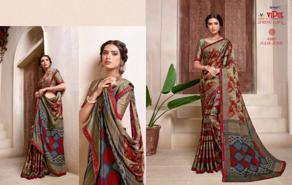 VIPUL SPRING LOVE VOL-2 Latest Fancy Casual Wear Fancy Printed Saree Collection