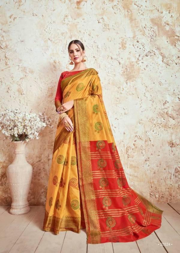 Shangrila Nidhi Silk New Launch Of Designer Party Wear Silk Saree