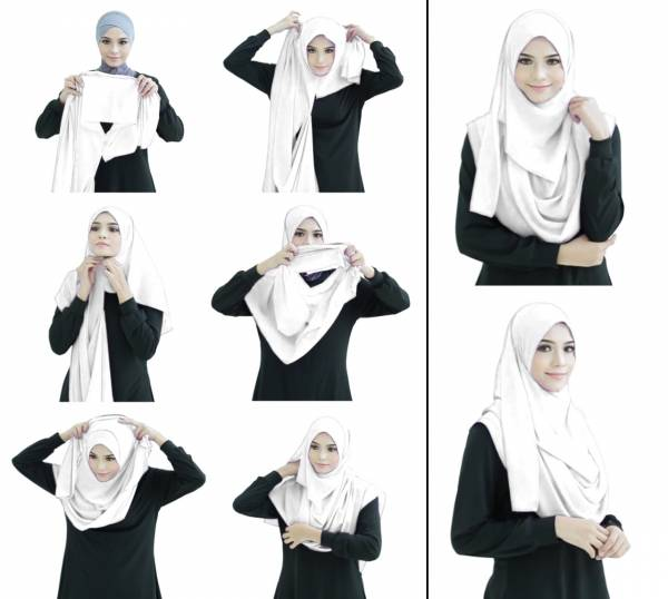 Latest Plain Eight Different Colour Attractive Lycra Headscarf Collection