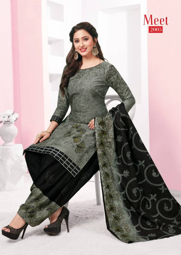Meet Vol 2 Presenting Latest Collection Of Ready Made Designer daily Wear Cotton Patiyala Suit