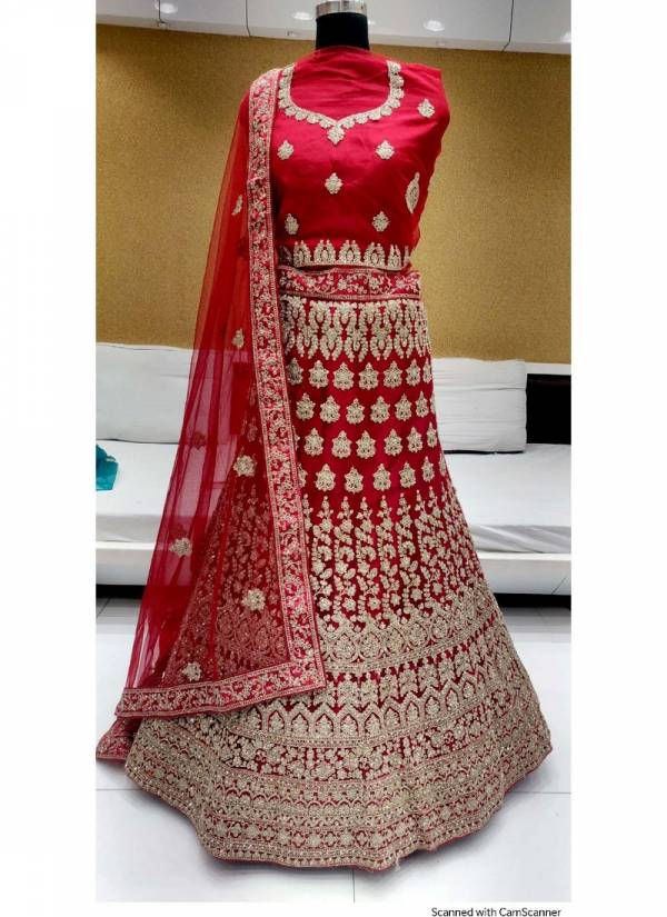 Dark Coin Designer Wedding Net Embroidered Lehenga Choli Collection