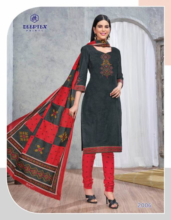 Deeptex Designer Printed Cotton Dress Material Collection