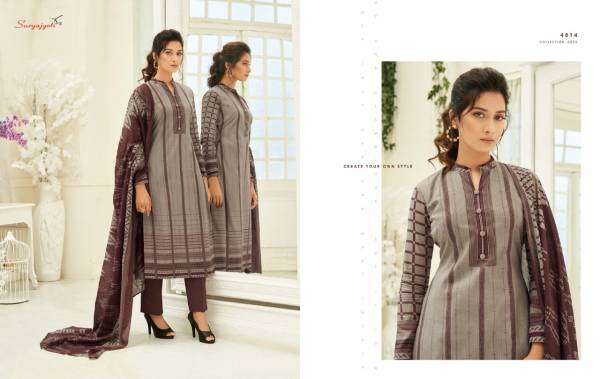 Suryajyoti Latest Designer Casual Wear Pure Cotton Printed Dress Material Collection