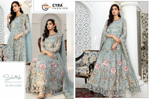 Cyra Sehrish Latest Heavy Designer Heavy Worked Pakistani Salwar Suits Collection