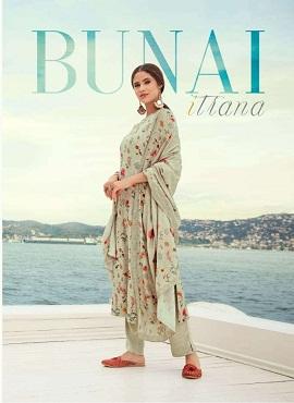 Sahiba Bunai Latest Designer Piece Pure Pashmina Digital Printed With Hand Work Salwar Suit Collection