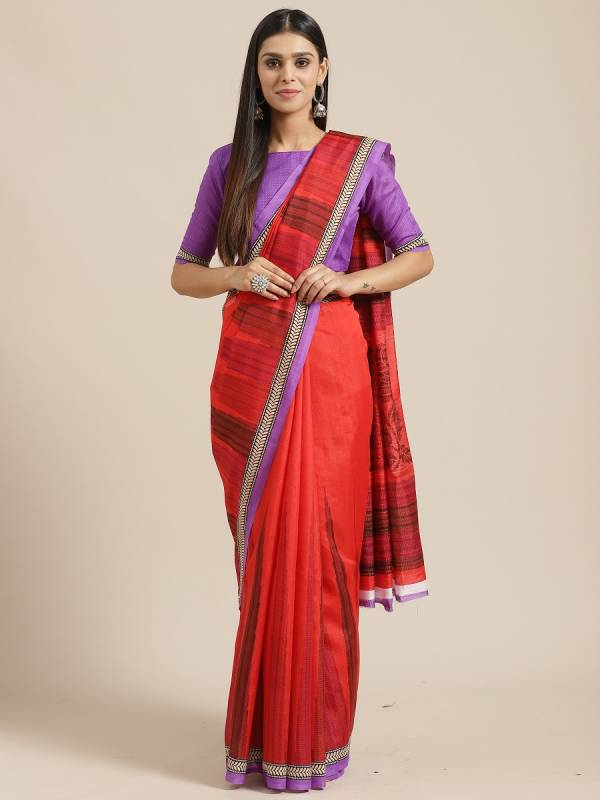 Latest Bhagalpuri Silk Designer Saree Collection