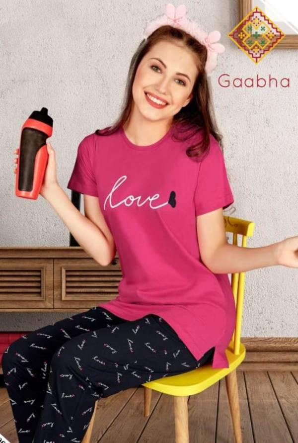 Gaabha Sweet Dreams Vol 5 Latest Comfortable Hosiery Cotton Premium Quality Night Dress Collection