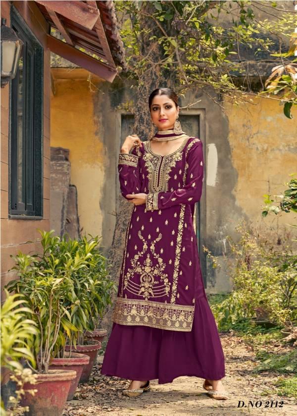 New Arrival Twisha 21 Latest fancy Designer Festive Wear Georgette Embroidered Salwar Kameez Collection
