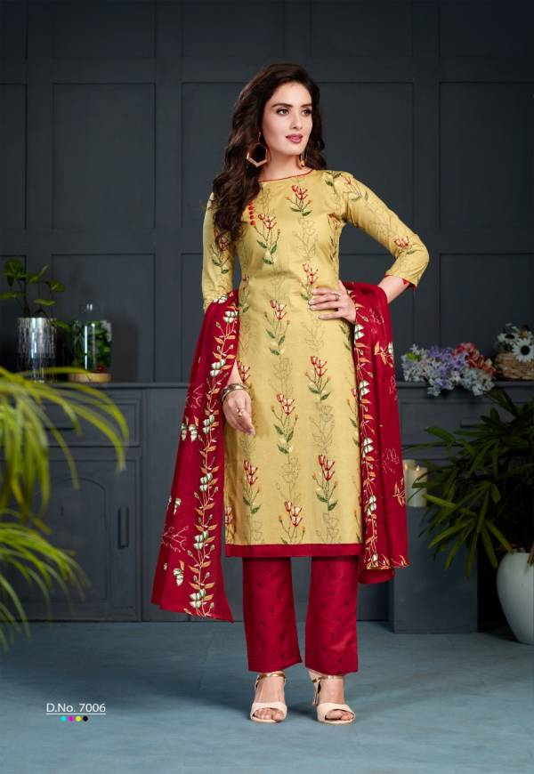 SC Laadki vol 7 Latest Designer Casual Wear Cotton Printed Dress Material Collection