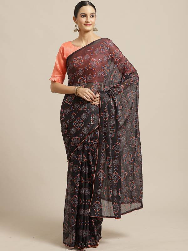 Daily Wear Designer Printed Saree Collection