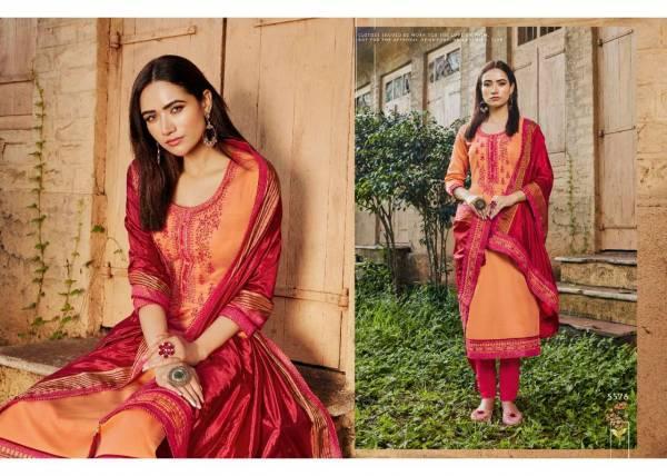Kessi Silk Shine Vol 3 Latest Heavy Designer Jam Silk With Khatli Work Dress Material Collection