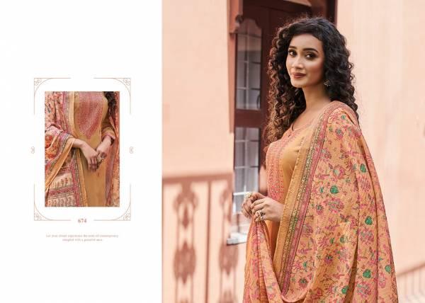 Triple Aaa Kamlee Latest Fancy Designer Casual Wear Jam Silk Festive Wear Dress Material Collection