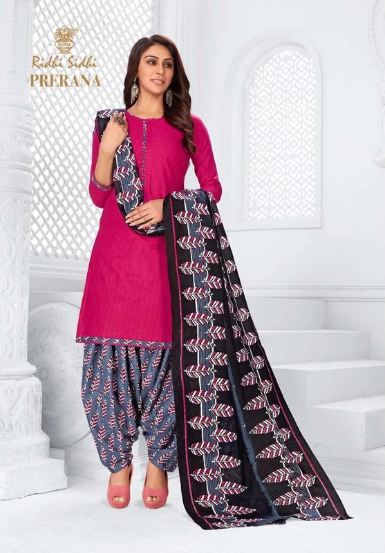 Ridhi Sidhi Prerana Vol-6 Latest Designer Printed Cotton Dress Material Collection