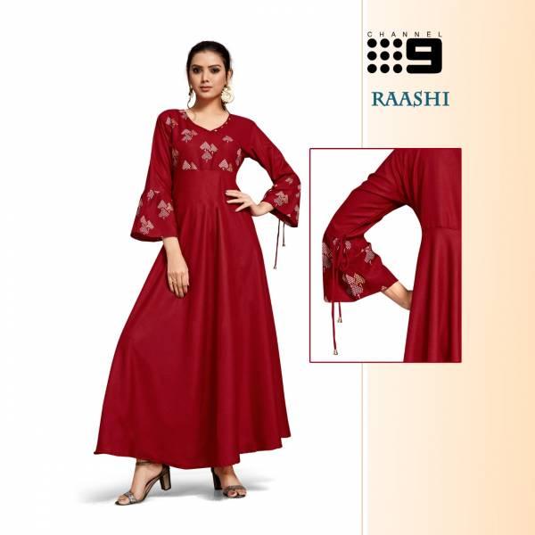C9 Raashi Party Wear Printed Designer Kurtis Collection