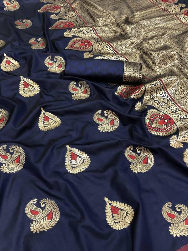 Niharika Silk 40 Designer Fancy Wedding Wear Banarasi jacquard