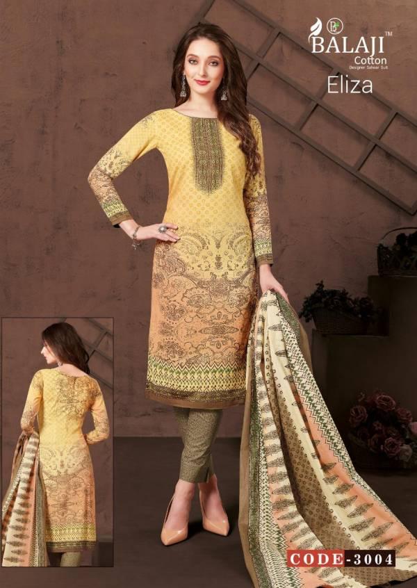 Balaji Eliza Vol 3 Present Latest Designer Printed Pant Style Regular Wear Salwar Suit Collection