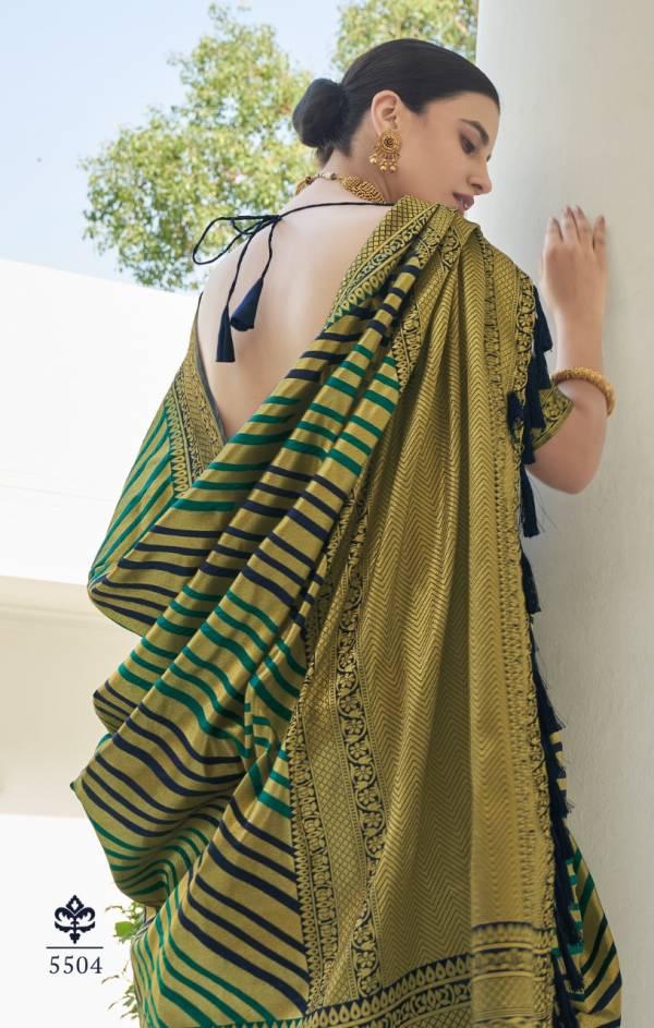 Rajyog Ananya Fesvy Wedding Wear Designer Silk Fancy Wear Saree Collection