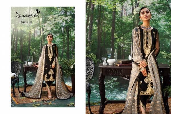 Serena Azalea Festive Wear Heavy Embroidery Work Desingner Pakistani Salwar Suits Collection