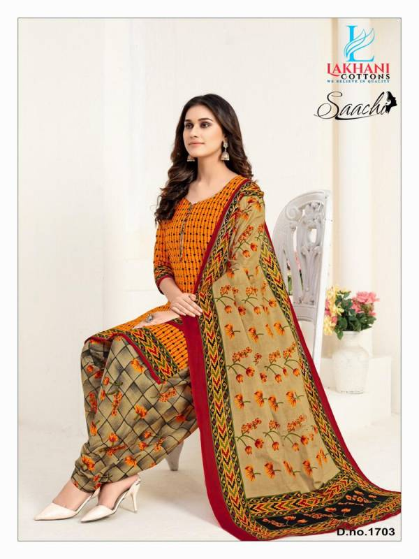 Lakhani Saachi 17 New Collection Of Designer Casual Wear Printed Cotton Dress Material