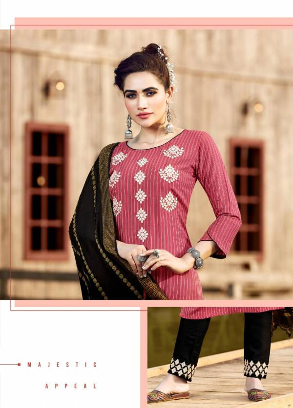 Manas Glamour City Ethnic Wear Rayon Embroidery Work Ready Made Salwar Suit Collection
