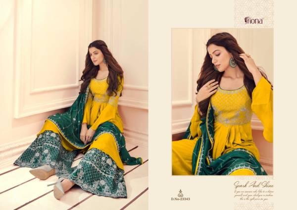 Fiona Manyata Festive Wear Designer Fancy Embroidery Stylish Salwar Kameez Collection