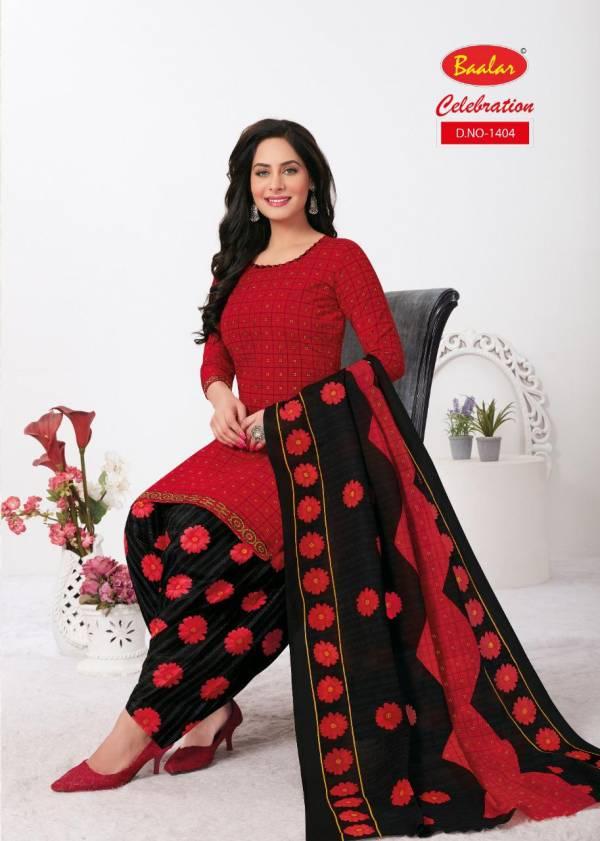 Baalar Celebration Patiyala Special 14 Cotton Printed Ready Made Collection