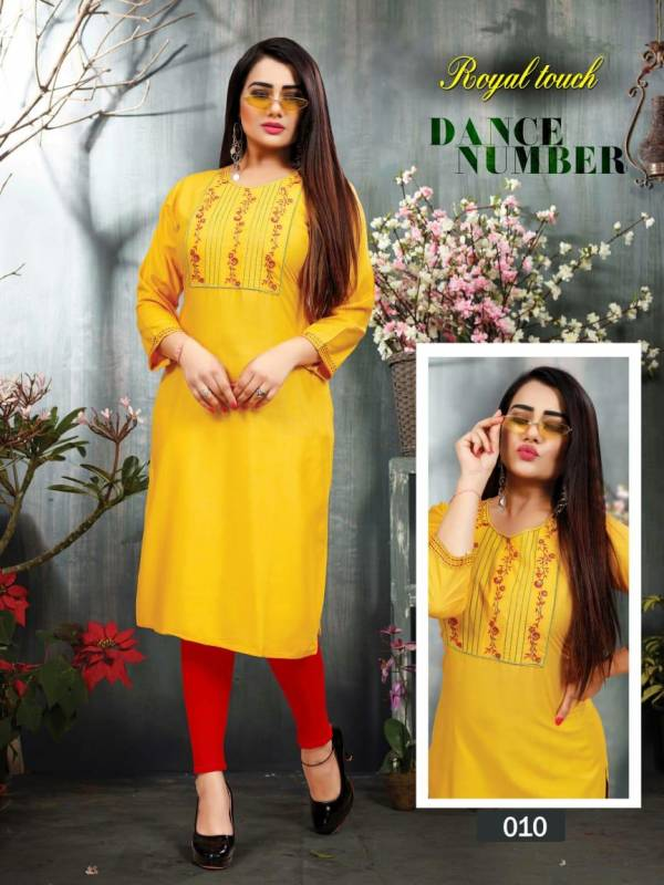 Aagya Royal Touch Casual Wear Latest Designer Kurtis Collection