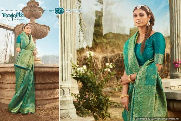 Monjolika Mishri Banarasi Festive Wear Designer Heavy Silk Saree Collection