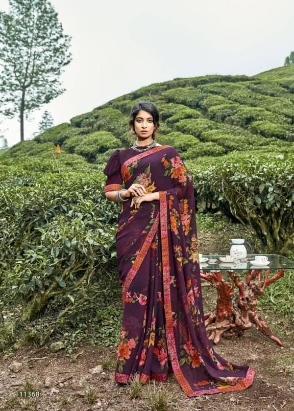 VALLABHI IMLI Latest Heavy Casual Wear Fancy Weightless Printed Saree Collection