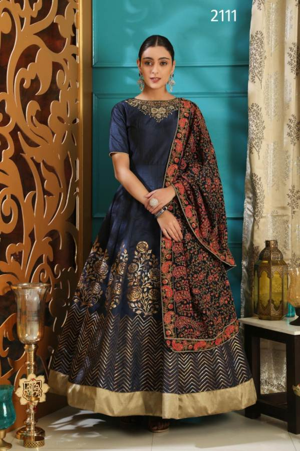 Flory Vol 2 New Designer Gown Collection With Heavy Embroidery Work For Party Wedding And For Festival