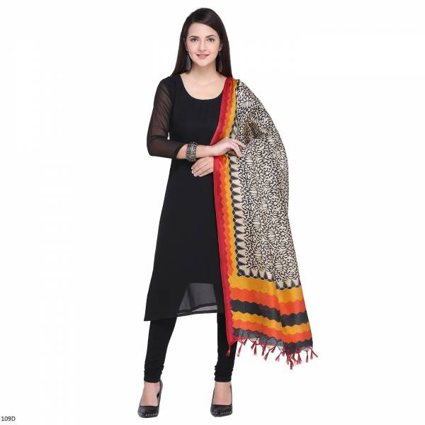New Khadi Silk Printed Dupatta To Change Your Look