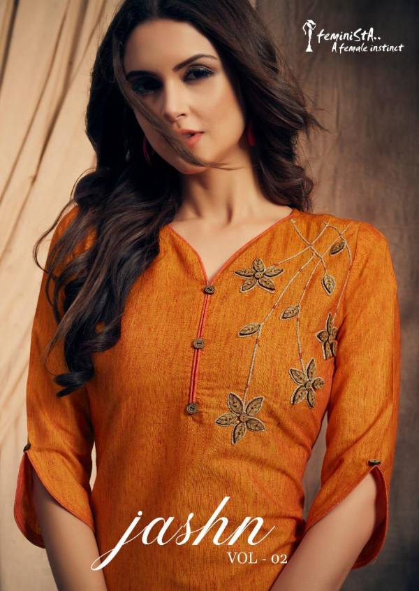 JASHN-2 New Launch Of Designer Party Wear South Cotton Handloom with Hand Embroidery