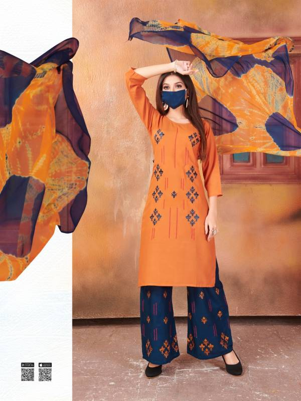 Rung Zbeda 3 Latest Fancy Designer Regular Casual Wear Heavy Rayon Ready Made Collection