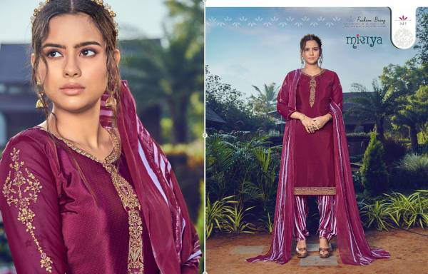 Aarav Trendz Designer Party Wear Embroidered Punjabi Patiyala Suit Collection at Wholesale Rate