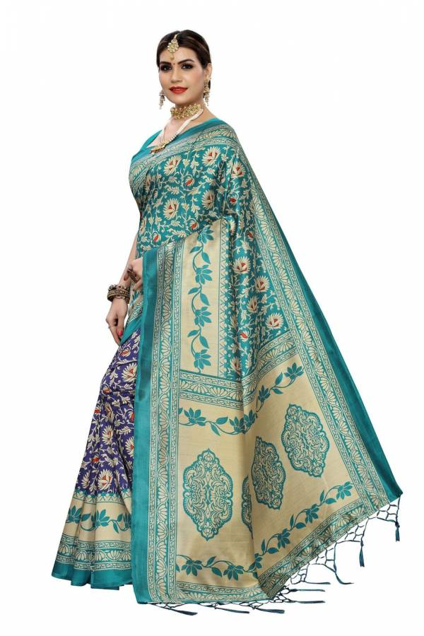 Sf 233 Latest Designer Fancy Casual Wear Printed Art Silk Sarees Collection