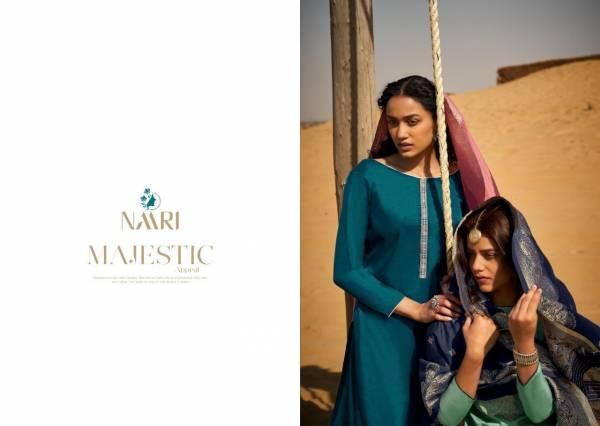 RSF (NAARI) TAPAS Fancy Designer Casual Wear Tusser silk coding work with silk jacard viscous dyeable dupatta Salwar Suit Collection
