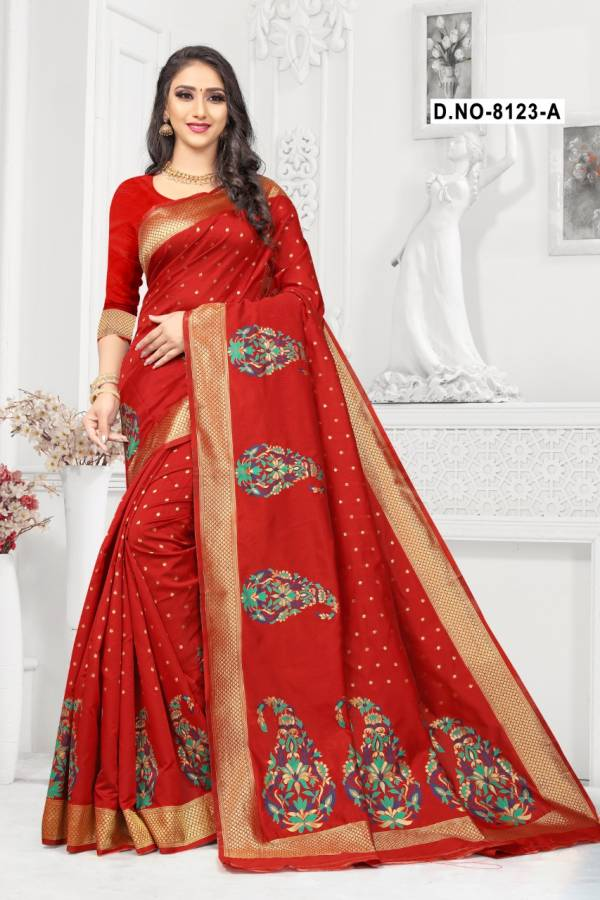 New Launch Of Stylish Festive Wear Handloom Silk Saree Collection