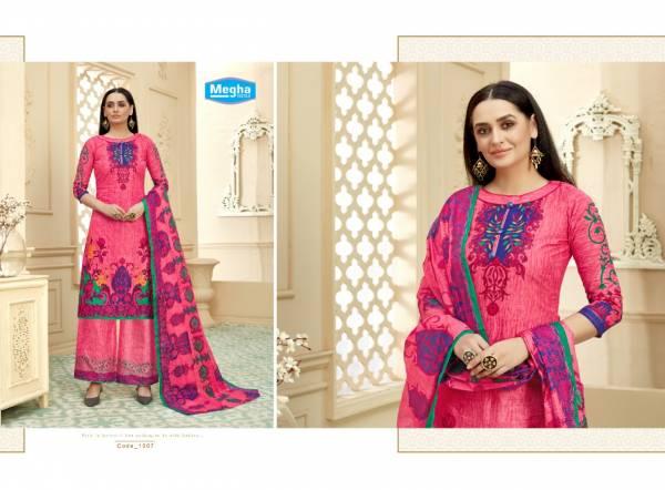 Megha Mirza Sahiba 2 Latest fancy Regular Casual Wear Pure Printed Cotton Collection