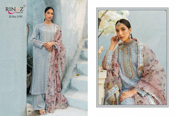 Rinaz Block Buster Hits 9 Latest Fancy Heavy Festive Wear Georgette With heavy Embroidery And Diamond Work Pakistani Salwar Suits Collection