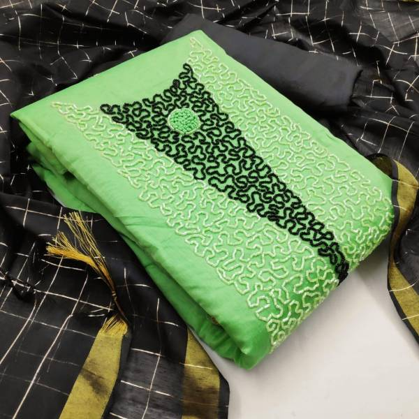 Designer Modal Hand Work Casual Wear Dress Material Collection